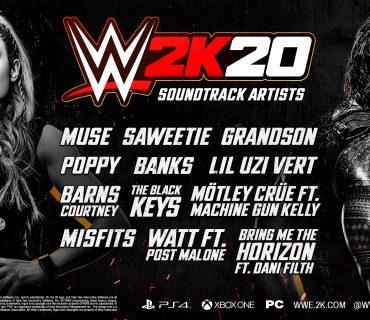 Ogłoszono ścieżkę dźwiękową w grze WWE 2K20