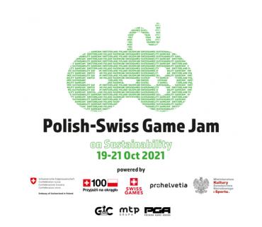 """Festiwal tworzenia gier komputerowych w Poznaniu – """"Polish-Swiss Game Jam on Sustainability"""""""